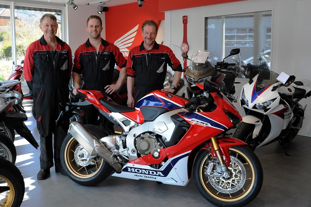 Moto Bättig AG Team in Menziken - Honda Vertretung